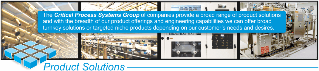 Critical Process Systems Group Products