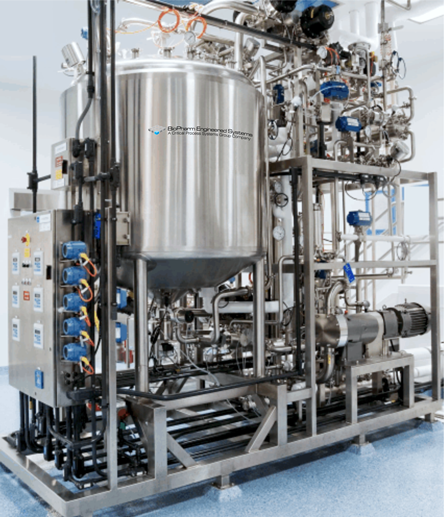 Life Science tangential flow filtration equipment